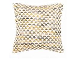 Żółta poszewka na poduszkę we wzory Tiseco Home Studio Pyramide, 45x45 cm
