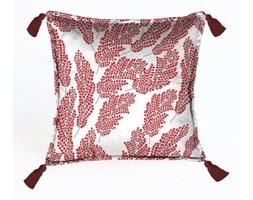 Czerwona dekoracyjna poszewka na poduszkę Velvet Atelier, 45x45 cm