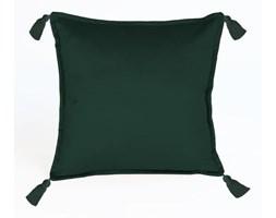 Zielona dekoracyjna poszewka na poduszkę Velvet Atelier Pompos, 45x45 cm