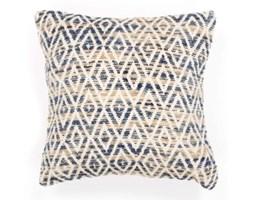 Niebieska poszewka na poduszkę we wzory Tiseco Home Studio Diamond, 45x45 cm