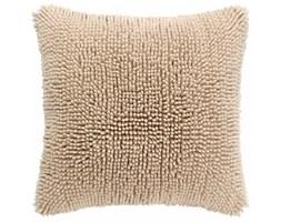 Beżowa poszewka na poduszkę Tiseco Home Studio Shaggy, 45x45 cm
