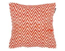 Pomarańczowa poszewka na poduszkę we wzory Tiseco Home Studio Ziggy, 45x45 cm