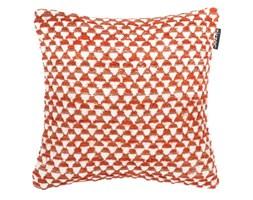 Pomarańczowa poszewka na poduszkę we wzory Tiseco Home Studio Pyramide, 45x45 cm