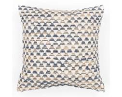 Niebieska poszewka na poduszkę we wzory Tiseco Home Studio Pyramide, 45x45 cm