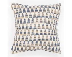 Niebieska poszewka na poduszkę we wzory Tiseco Home Studio Tower, 45x45 cm