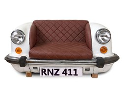 Car sofa - Sofa wykonana w 100% ręcznie z przedniej części starego auta, które zostało odpowiednio zdemontowane i przerobione na mebel.