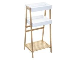 Regał łazienkowy, 3 półki na ręczniki, bambusowy, 40x35x89 cm