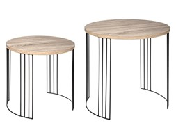 Komplet stolików okazjonalnych NEILE, 2 rozmiary,, 2 sztuki w komplecie
