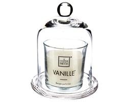 Świeca zapachowa WANILIA z kloszem, szklana Ø11x15 cm