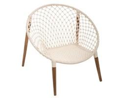 Fotel wypoczynkowy MANGO, Ø 90 cm, kolor biały