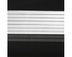 Roleta Dzień i Noc Wolnowisząca BASIC, Promocja, czarna 95x230 cm