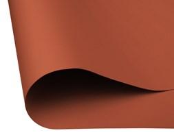 Roleta materiałowa bezinwazyjna, Zaciemniająca BASIC, Promocja, ceglana, 40x100 cm