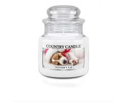 Country Candle - Winter's Nap - Mały słoik (104g)
