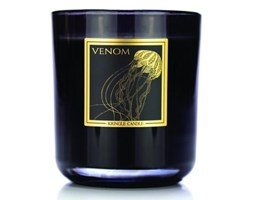 Kringle Candle - Venom - Tumbler (340g) z 2 knotami