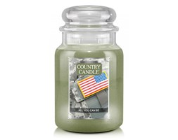 Country Candle - All You Can Be -  Duży słoik (680g) 2 knoty