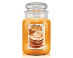 Country Candle - Pumpkin Frosting - Duży słoik (680g) 2 knoty