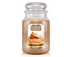 Country Candle - Maple Sugar -  Duży słoik (680g) 2 knoty