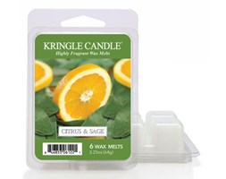 "Kringle Candle - Citrus and Sage  - Wosk zapachowy ""potpourri"" (64g)"