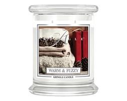 Kringle Candle - Warm and Fuzzy - średni, klasyczny słoik (411g) z 2 knotami