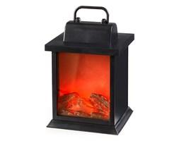 Lampion z efektem ognia z kominka