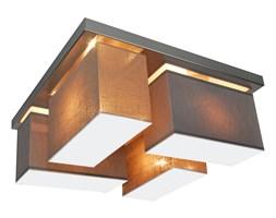 Lampa sufitowa ze stali nierdzewnej CRJULS45GR6 abażur z blendami SZARY CAPPUCCINO