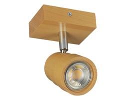 Lampa, spot sufitowy, reflektor LED LEDWA10x7-BUK jednopunktowy z litego drewna
