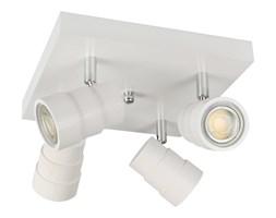 Lampa, spot sufitowy, reflektor LED LEDWA25x25-BIAŁY czteropunktowy z litego drewna
