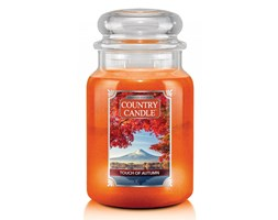Country Candle - Touch of Autumn - Duży słoik (680g) 2 knoty