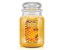 Country Candle - Honey Butter - Duży słoik (680g) 2 knoty