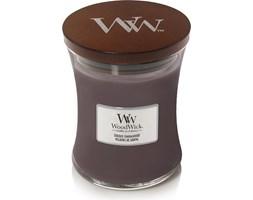 Świeca Core WoodWick Suede & Sandalwood średnia
