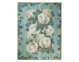 Koc wełniany Designers Guild The Rose Swedish Blue
