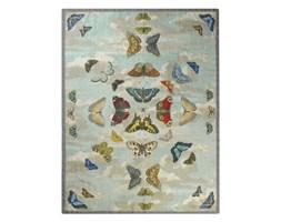Koc wełniany Designers Guild Mirrored Butterflies Sky