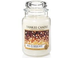 Świeca zapachowa Yankee Candle All is Bright
