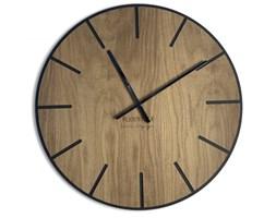 Wielki zegar ścienny Wood Art 60cm