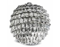 Dekoracyjna szyszka srebrna