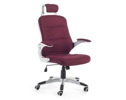 Krzesło biurowe burgundowe regulowana wysokość PREMIER