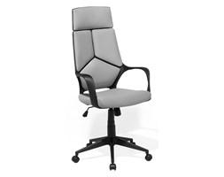 Krzesło biurowe czarno-szare regulowana wysokość DELIGHT