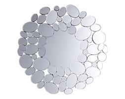Lustro ścienne srebrne ø70 cm LIMOGES