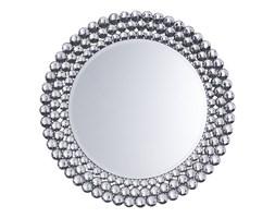 Lustro ścienne srebrne ø70 cm STENAY