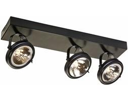 Lampa wisząca Visio asymetryczna 50x17 cm brązowa