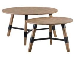Stoliki kawowe Conne drewniane (2-set)