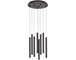 Lampa wisząca Roll 48x203 cm czarna