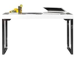 Biurko White Desk 120x40 cm białe