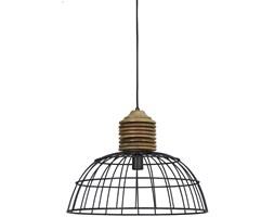 Lampa wisząca Gabrielle 52x38 cm szara