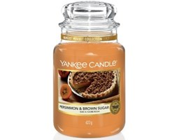 Świeca zapachowa Yankee Candle Persimmon & Brown Sugar