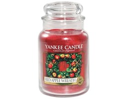 Świeca zapachowa Yankee Candle Red Apple Wreath