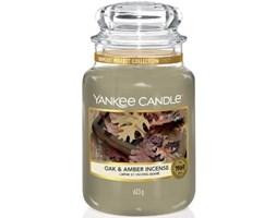 Świeca zapachowa Yankee Candle Oak & Amber Incense