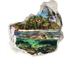 naklejka fototapeta 3D na ścianę Tropikalna plaża