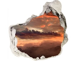 naklejka fototapeta  na ścianę Zachód słońca góry