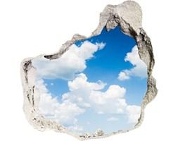 Samoprzylepna dziura na ścianę Chmury na niebie